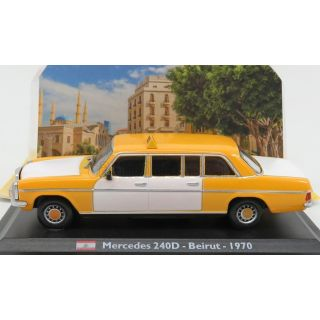 1/43 MERCEDES 240D - Beirut - 1970