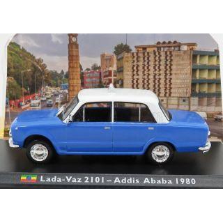 1/43 LADA - VAZ 2101 - Addis Ababa 1980