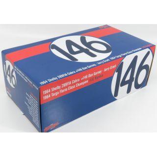 1/12 1964 SHELBY 289FIA COBRA #146 Dan Gurney - Jerry Grant 1964 Targa Florio Class Champion