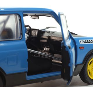 1/18 AUTOBIANCHI A112 MK5 ABARTH-BLEU CHARDONNET-CHARDONNET RALLY SET-1980