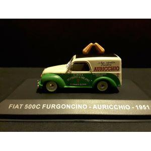 1/43 FIAT 500C FURGONCINO - AURICCHIO - 1951