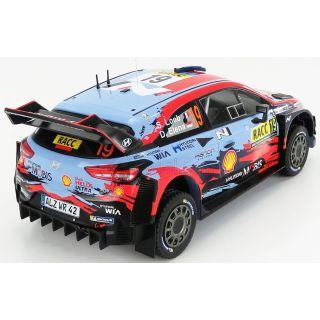 1/18 HYUNDAI İ20 COUPE WRC N 19 RALLY CATALUNYA 2019 S.LOEB-D.ELENA