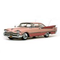 1/18 1959 DODGE CUSTOM ROYAL LANCER HARD TOP (Rose Quartz/Coral)