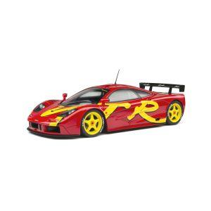 1/18 MCLAREN F1 GTR SHORT TAIL - LAUNCH LIVERY - 1996