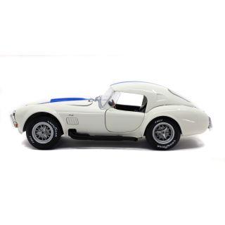 1/18 SHELBY COBRA 427 S/C WIMBLEDON WHITE 1965